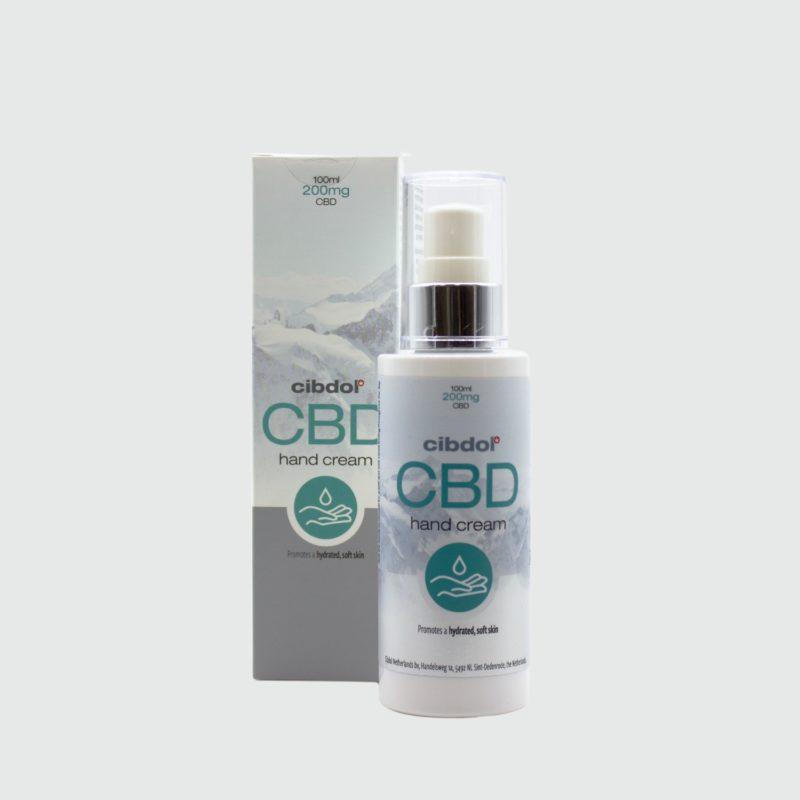 Crema de manos CBD de CIBDOL